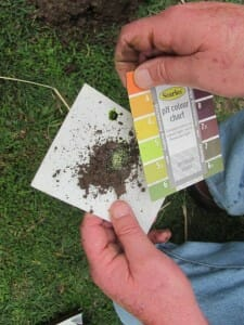 Soil test kits are low-cost but useful tools for home gardeners