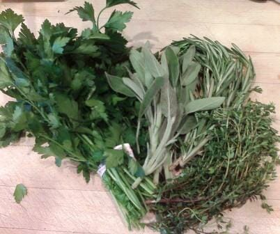 Parsley, sage, rosemary & thyme make perfect partners! | The Micro Gardener