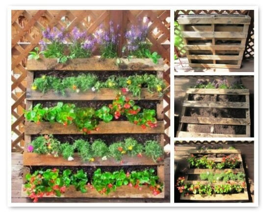 How To Make Flower Boxes From Pallets