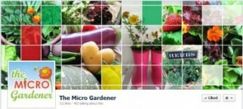 Join The Micro Gardener community on Facebook