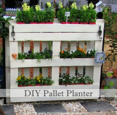 DIY Pallet Planter Tutorial | The Micro Gardener