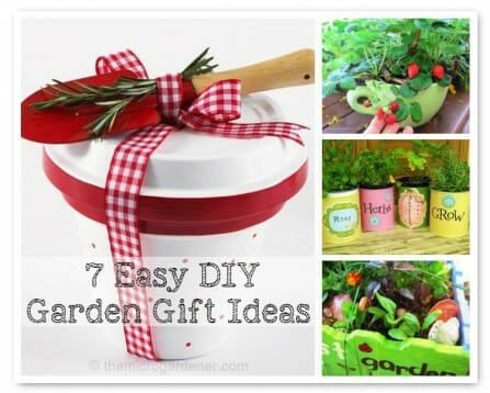 7 Easy DIY Garden Gift Ideas to Make - Give gifts that keep on giving. | The Micro Gardener