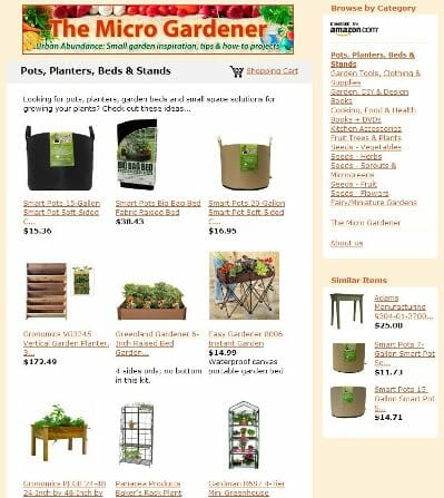 The Micro Gardener Store - Garden Supplies, Organic Seeds, Cooking/Kitchen Accessories, Books, DVDs + more