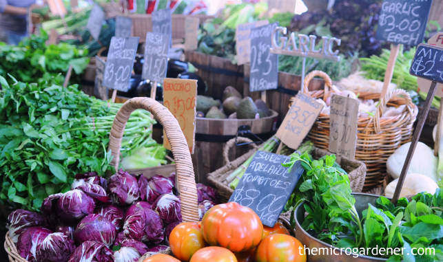At local farmers markets you can ask questions directly from growers and sellers
