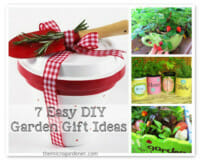7 Easy DIY Garden Gift Ideas