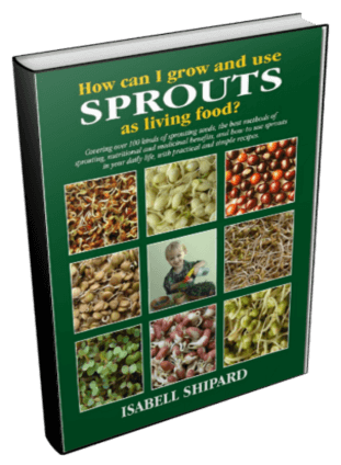 How Can I Grow and Use Sprouts as Living Food Book