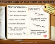 The process of setting your garden goals each year is easy, fun and rewarding.