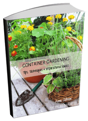 Container Gardening Tips Guide Cover