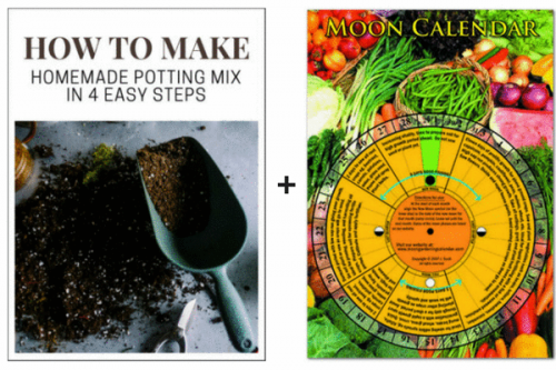 Moon Calendar and How to Make Potting Mix at Home Guide Special Offer