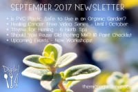 September 2017 Newsletter | The Micro Gardener