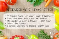 December 2017 Newsletter | The Micro Gardener