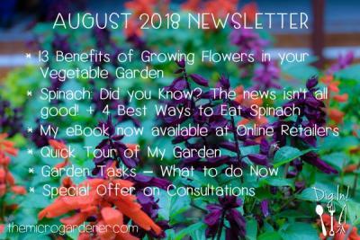 October 2016 newsletter the micro gardener august 2018 newsletter the micro gardener fandeluxe Images